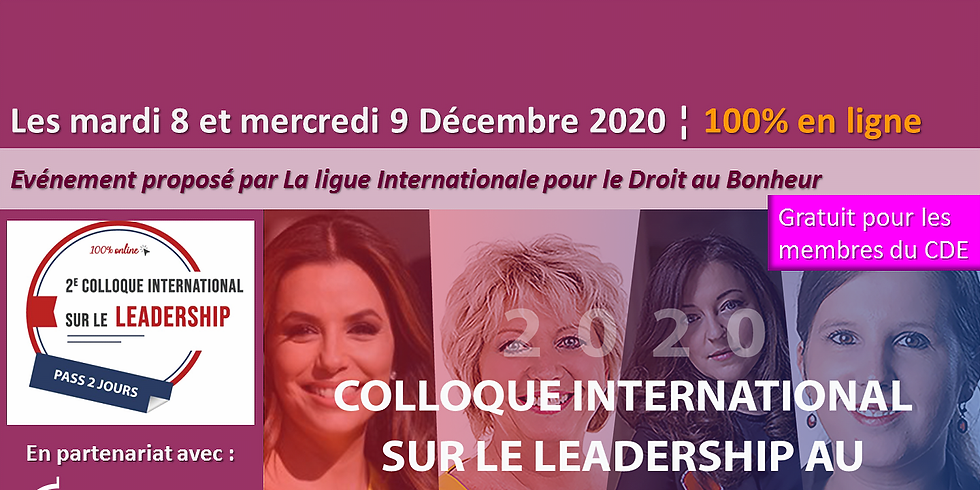 Colloque International sur le Leadership Féminin
