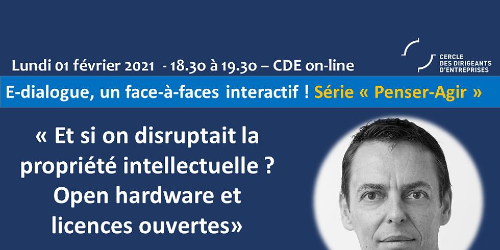 Jérôme MIZERET ¦ « Et si on disruptait la propriété intellectuelle? Open hardware et licences ouvertes »