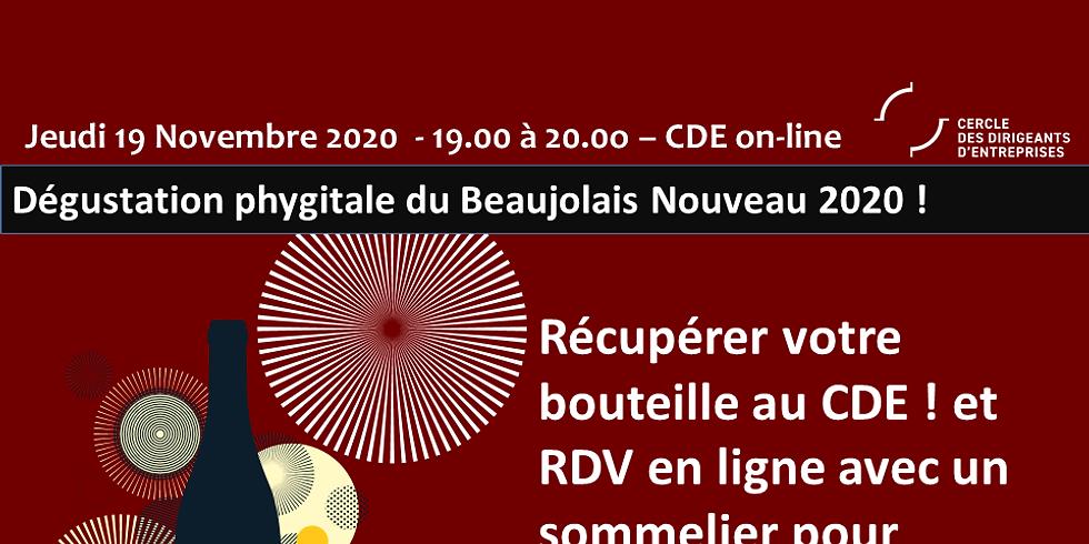 E-Degustation spéciale Beaujolais Nouveau 2020 !