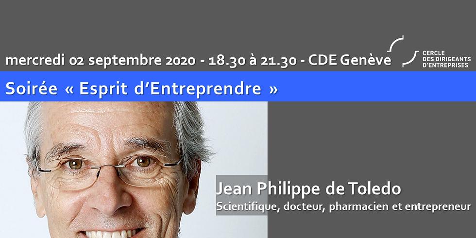 """CDE Genève - EE - Jean-Philippe de TOLEDO """"Quand la santé va, tout va !"""""""