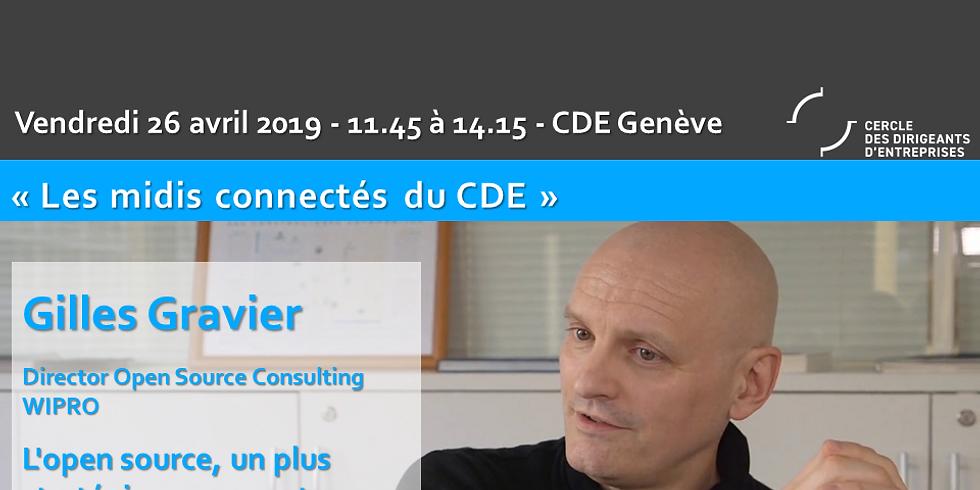 """""""L'open source, moteur d'innovation, attracteur de talents, une vraie stratégie pour votre entreprise"""" - Gilles Gravier"""