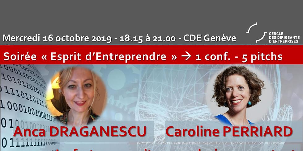 """Anca Draganescu et Caroline Perriard - """"La fortune sourit aux audacieux...surtout à ceux qui ont protégé leurs idées"""""""