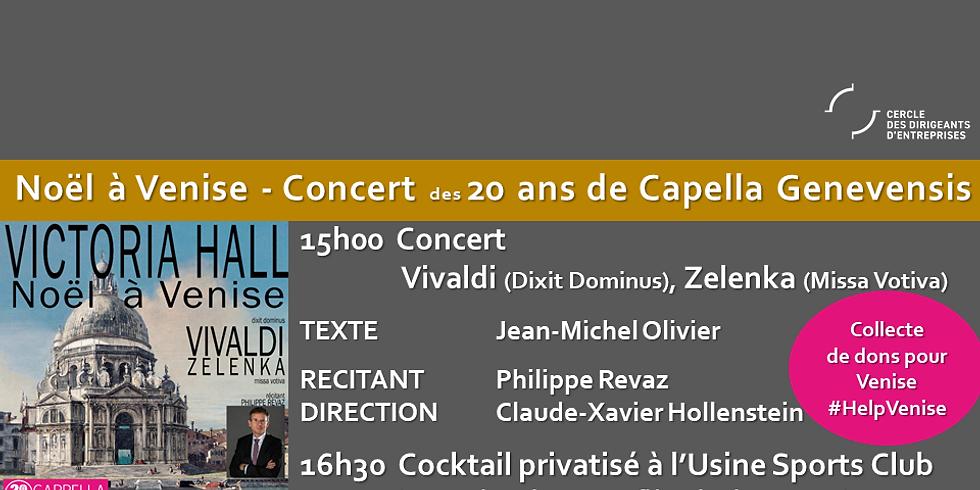 Concert 20 ans de Capella GENEVENSIS