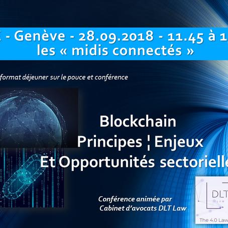 Blockchain : Principes, enjeux et opportunités sectorielles