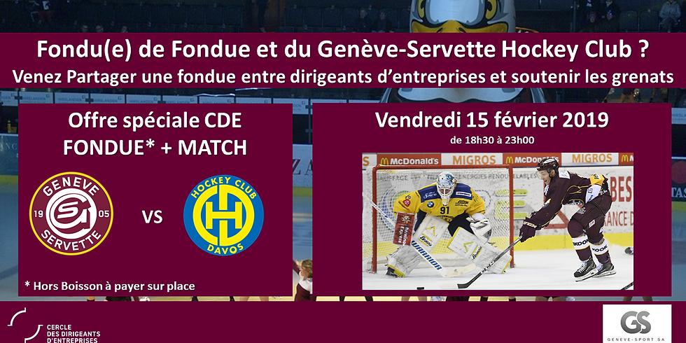 Fondu(e) de fondue et du Genève-Servette Hockey Club ?