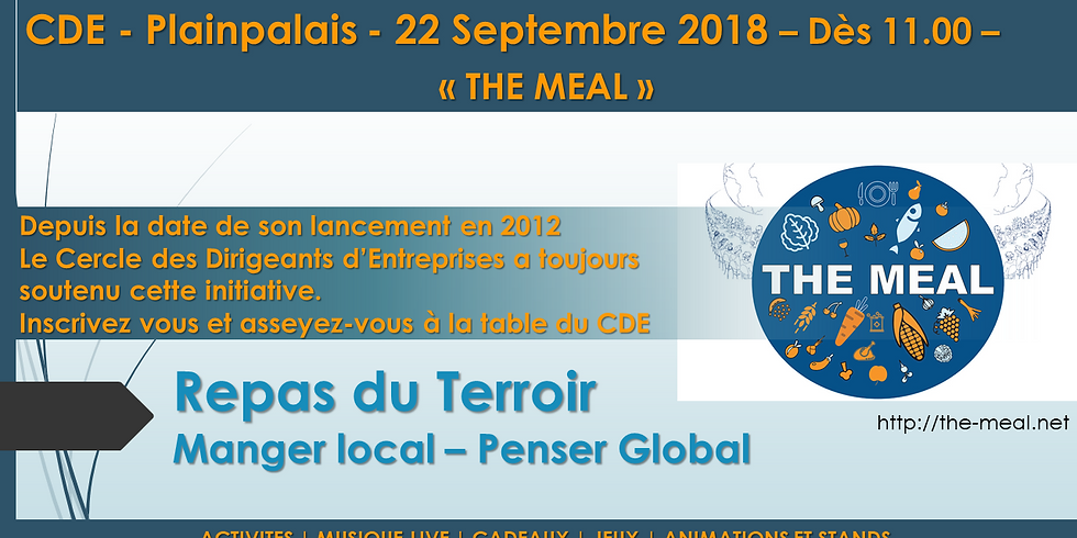 The Meal - Repas du Terroir