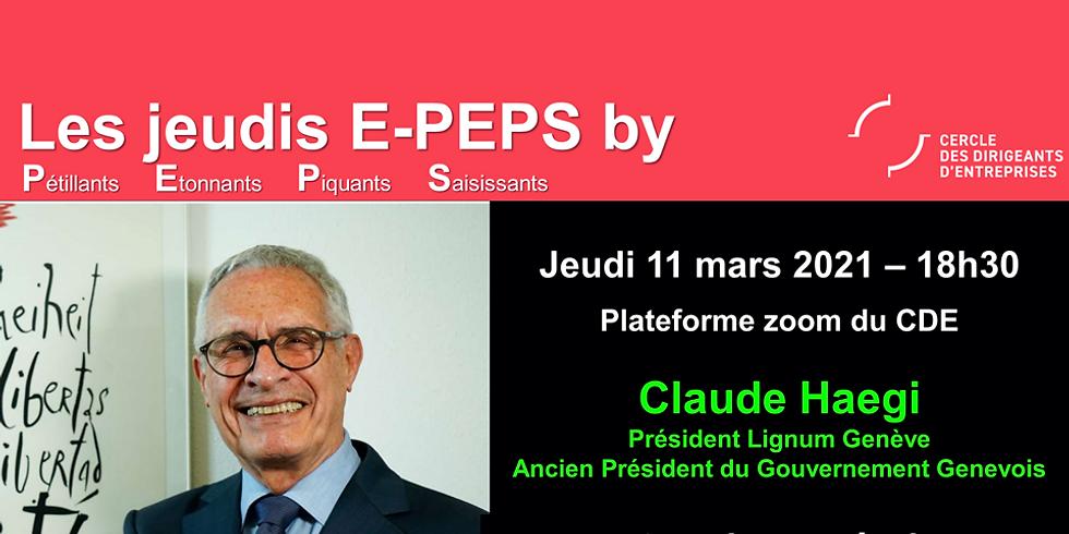 """Jeudis PEPS by CDE : """"Soutien au bois, le Grand Conseil s'en mêle"""""""