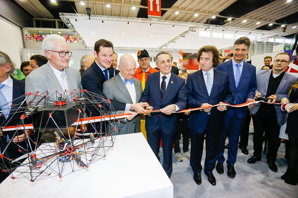 Inauguration du salon international des inventions