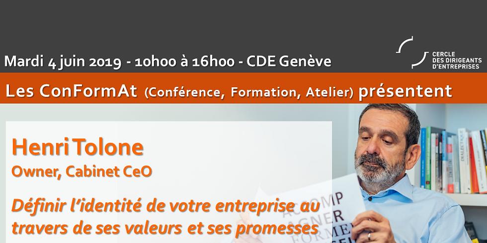 ConFormAT - L'identité d'entreprise par ses valeurs et promesses et Développer l'attractivité de votre entreprise