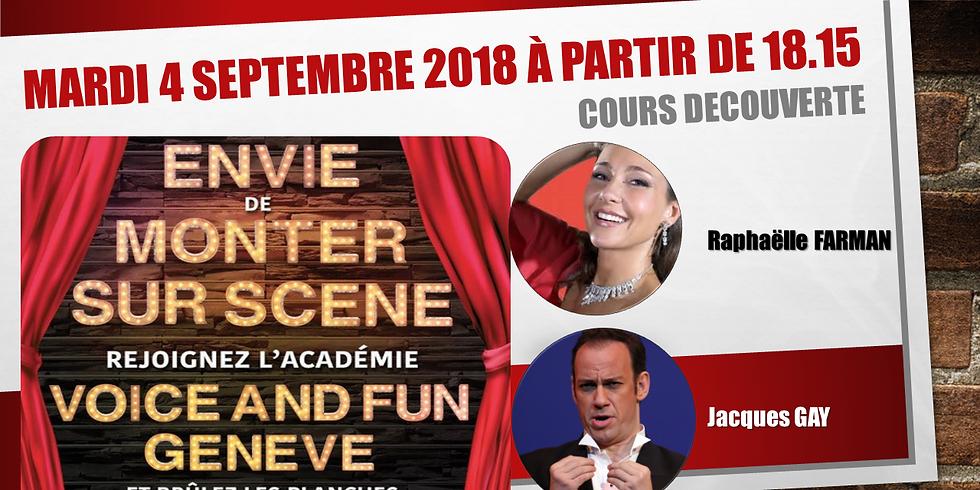 """Cours Découverte : """"Voice & Fun"""" Genève"""