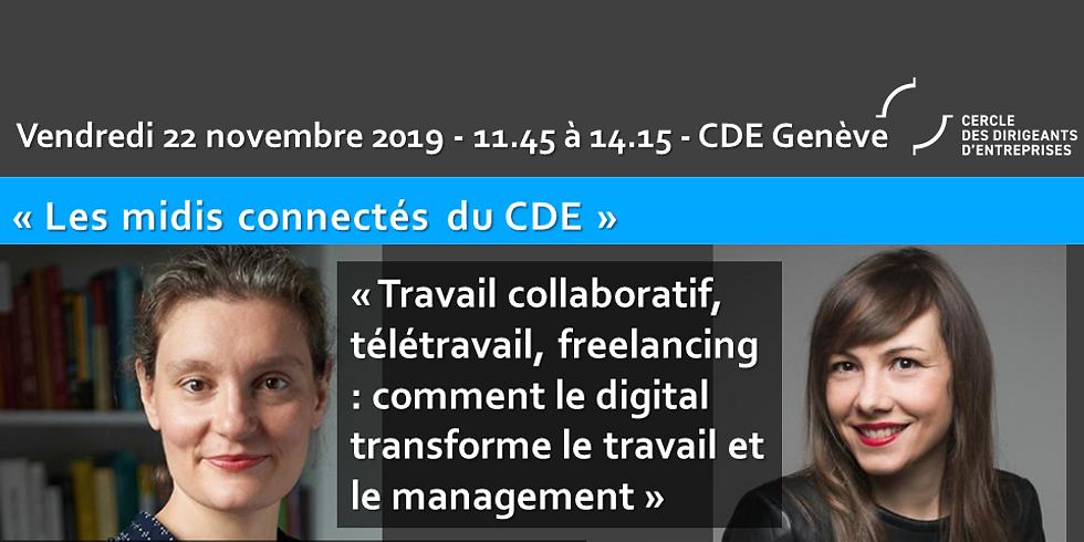 """Laetitia VITAUD et Julie HUGUET - """"Travail collaboratif (...)  : Comment le digital transforme travail et management"""""""