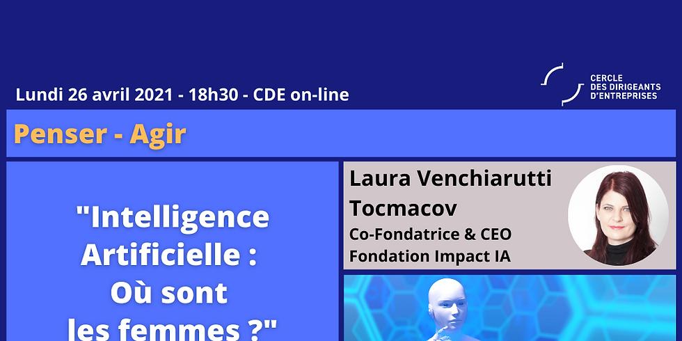 """Laura VENCHIARUTTI TOCMACOV, """"Intelligence artificielle : Où sont les femmes ?"""""""