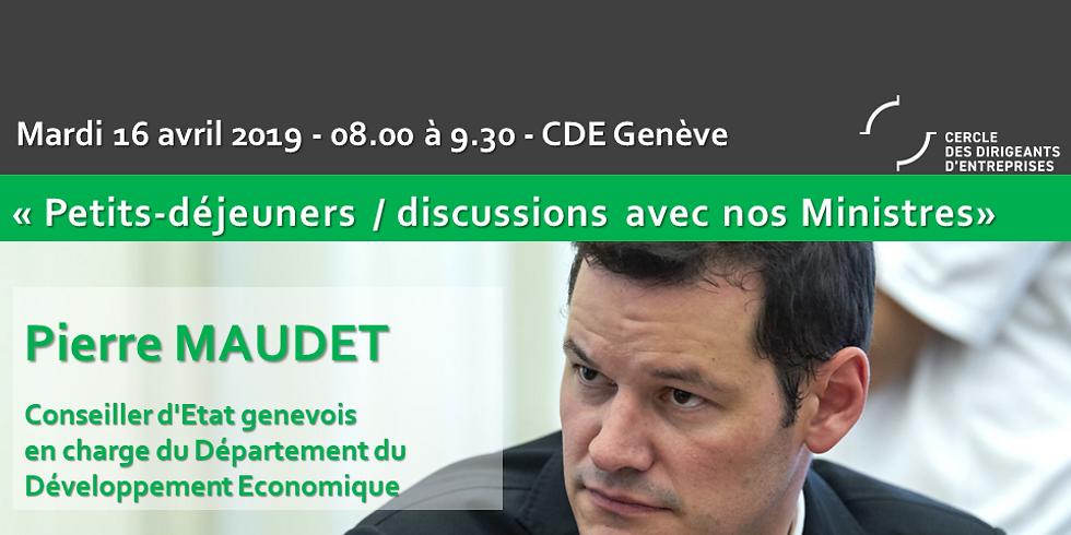 Pierre MAUDET* : Les Petits-déjeuners / Discussions du CDE