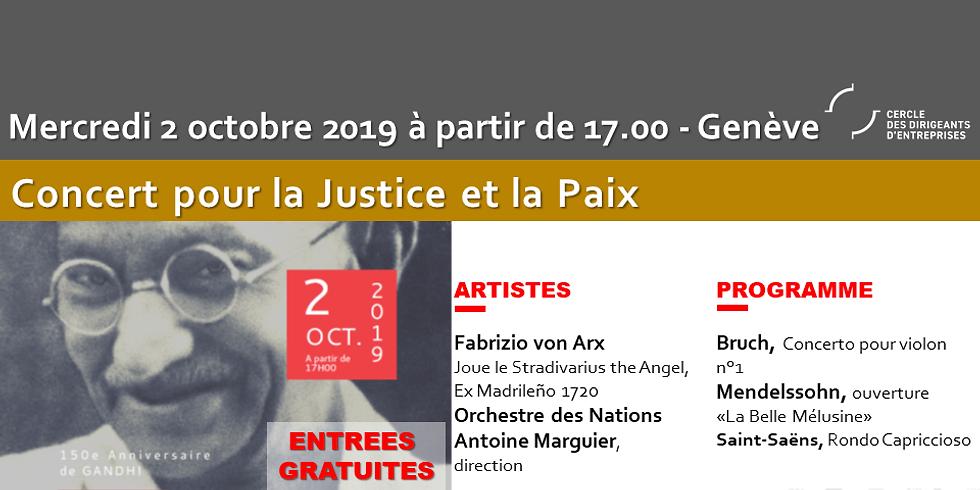 Concert pour la Justice et la Paix