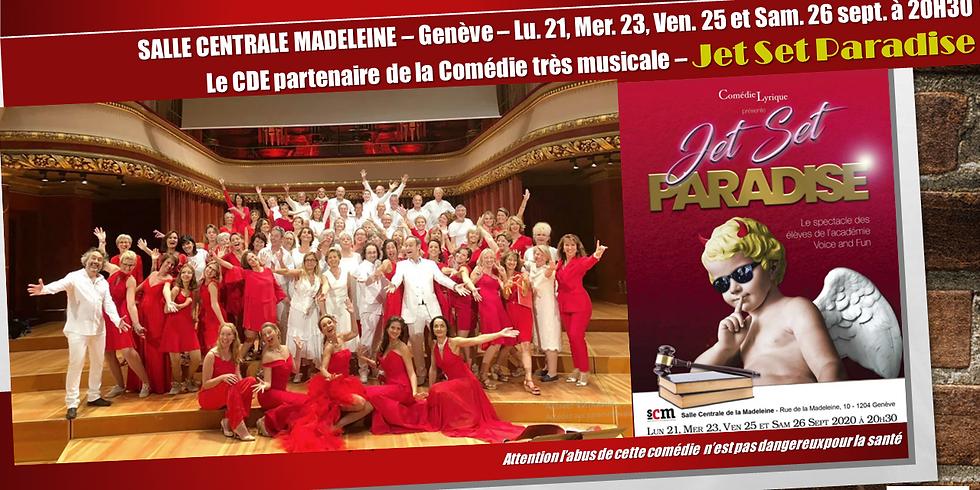 Académie Voice & Fun de Genève présente Jet Set Paradise
