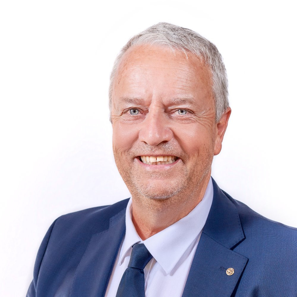 Portrait de Pierre Girod, Président de la Société Nautique de Genève