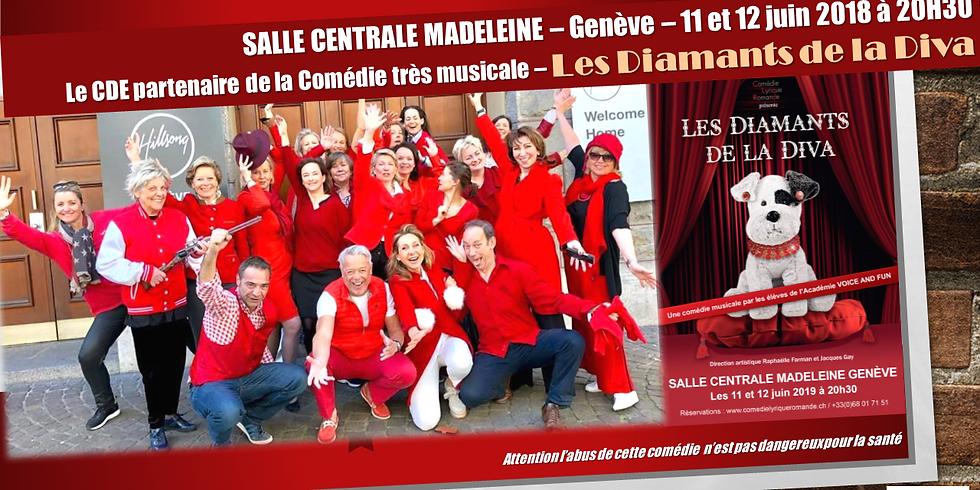 Comédie très musicale - Les Diamants de la Diva - 11 et 12 juin