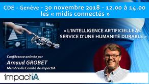 """""""Intelligence artificielle au service d'une humanité durable"""""""