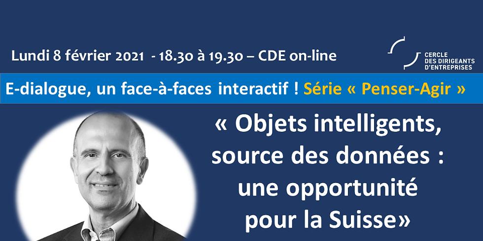 """Georges KOTROTSIOS - """"Objets intelligents, source des données : une opportunité pour la Suisse"""""""