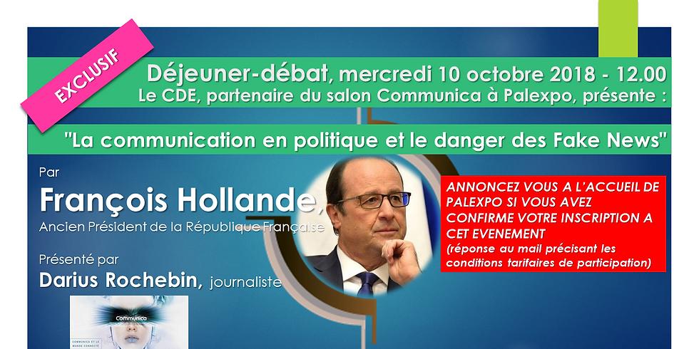 DEJEUNER - DEBAT avec François Hollande