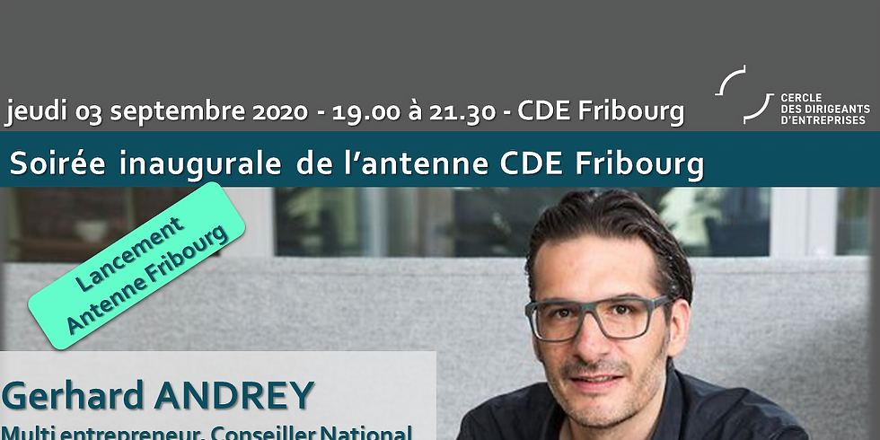"Inauguration antenne CDE Fribourg - Gerhard ANDREY ""l'autogestion en entreprise"""