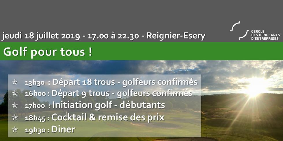 Golf pour tous !