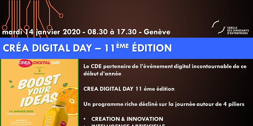 Le CDE partenaire du Créa Digital Day