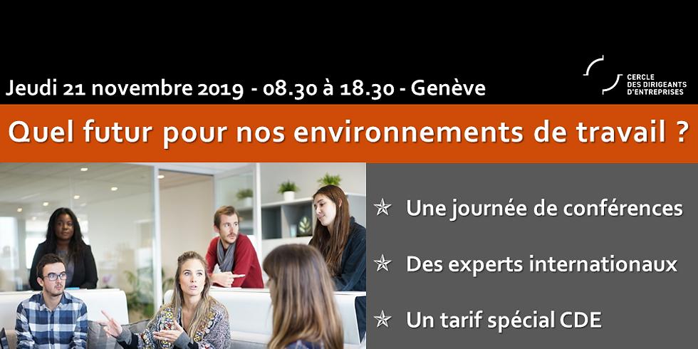 Le futur des environnements de travail - Journée Conférence !