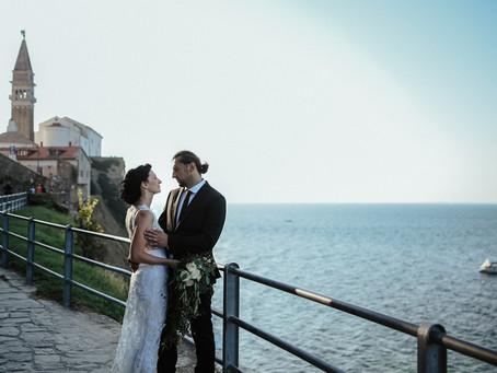 Poroka nad Piranom