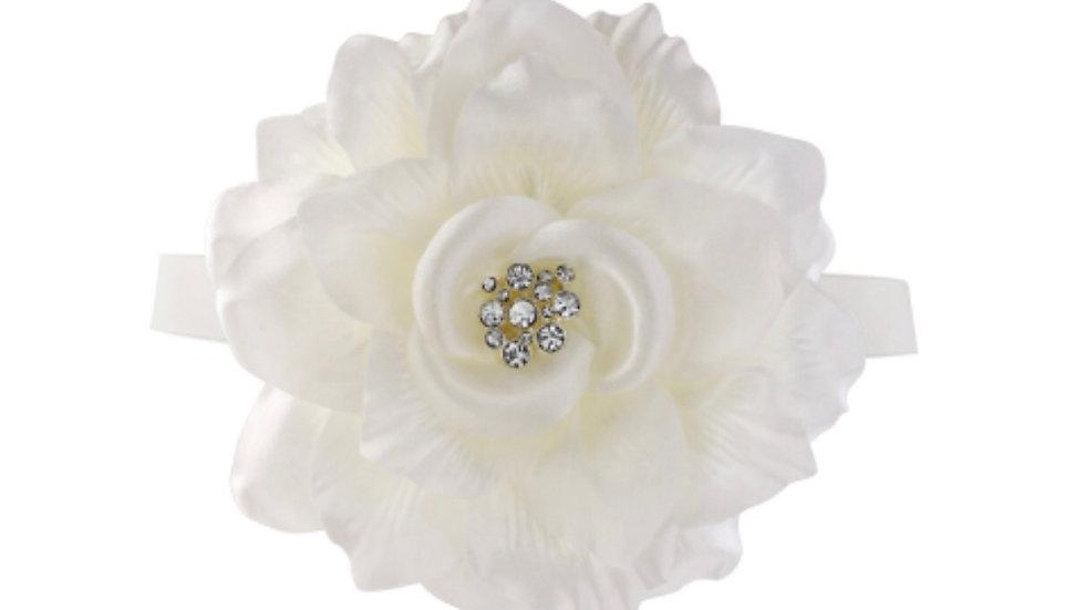 Athena Bridal Jewellery Amy Sash Ivory - One left