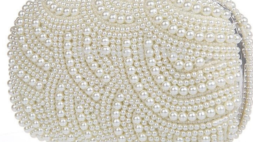 Athena Jewellery Pearl Bridal Clutch Bag