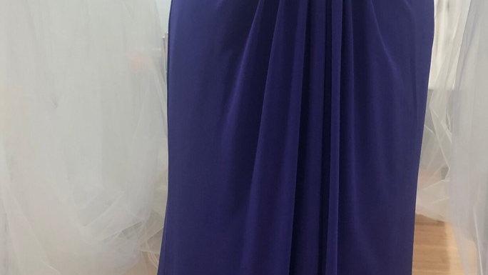 SALE - Sorella Vita Bridesmaid/Formal Dress 8614 Purple Size 16UK