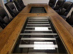 20ft custom conference room table