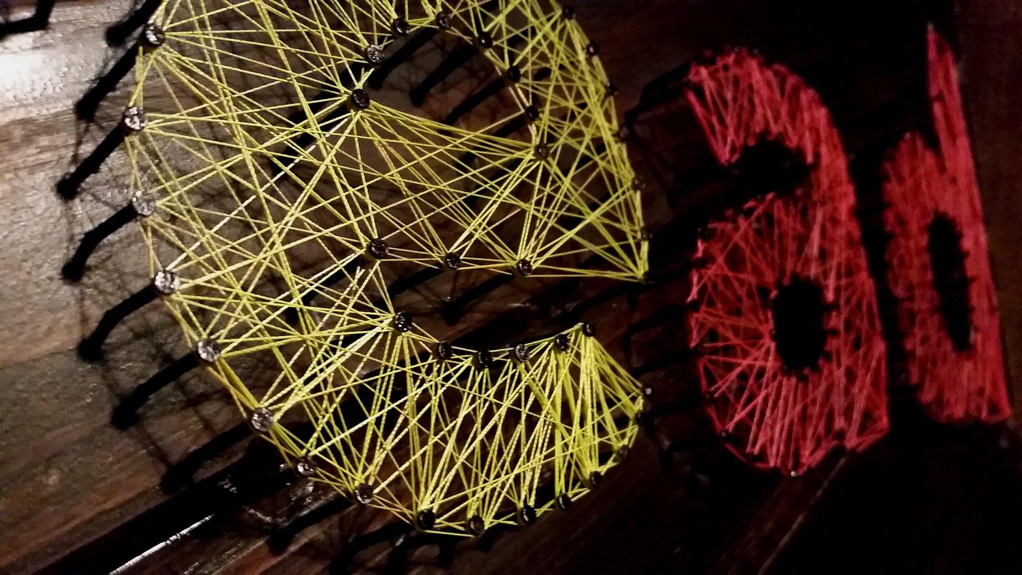 Gildan Clothing Co. string art