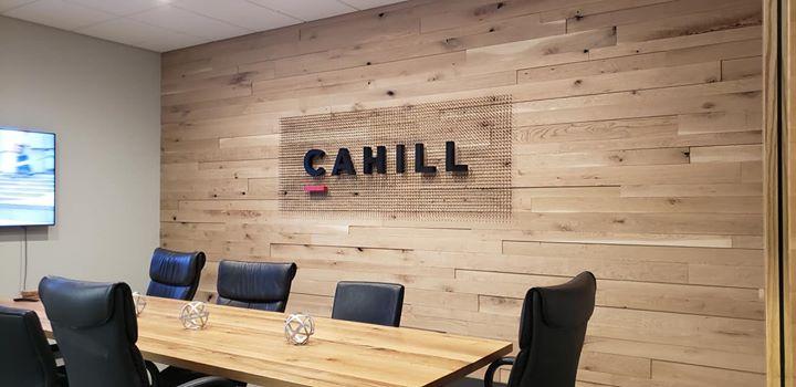 CCahill Construction interior art