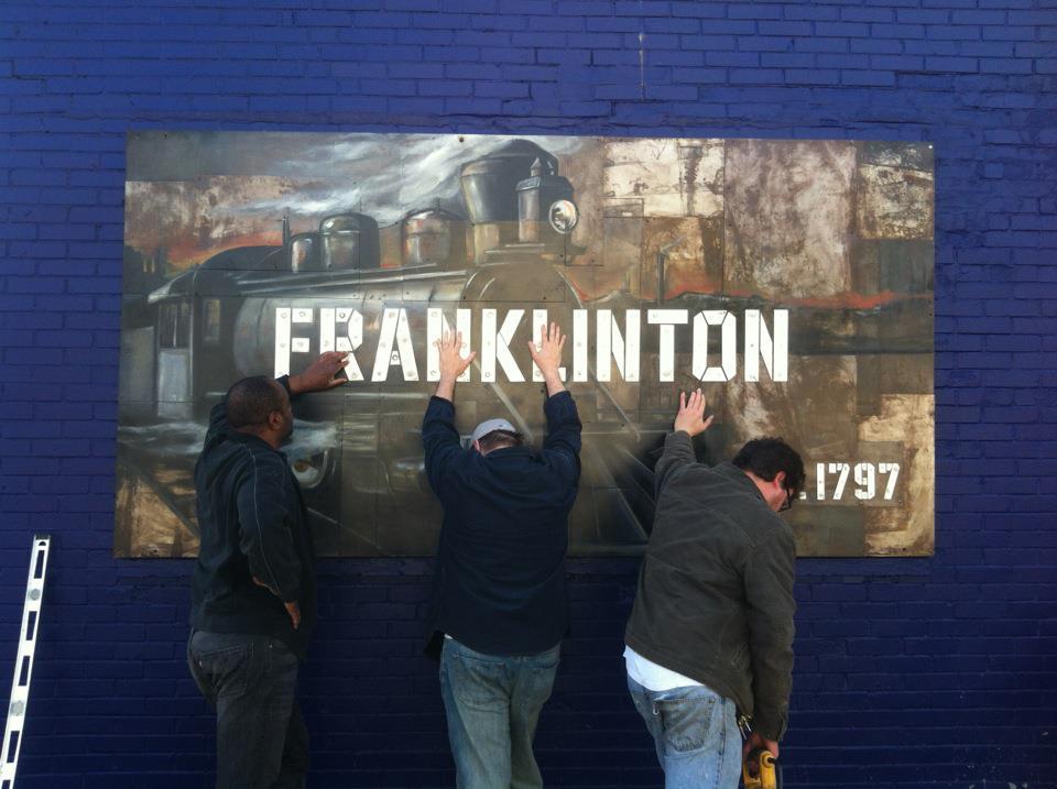 Franklinton Ohio, Landmark mural