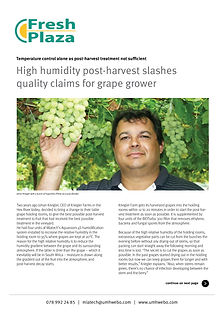 High humidity post-harvest slashes_previ