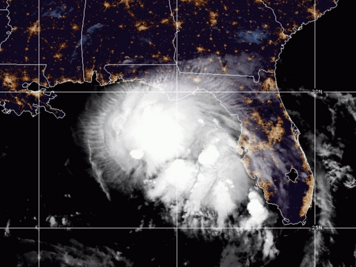 Tropical Storm Sally Expected to Hit Louisiana as a CAT 1 Hurricane