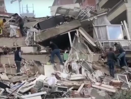 Major 7.0 Magnitude Earthquake in Aegean Sea Off Greece and Turkey