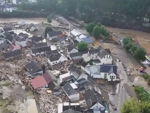 At Least 100 Dead as Massive Floods Continue in Western Germany and Belgium