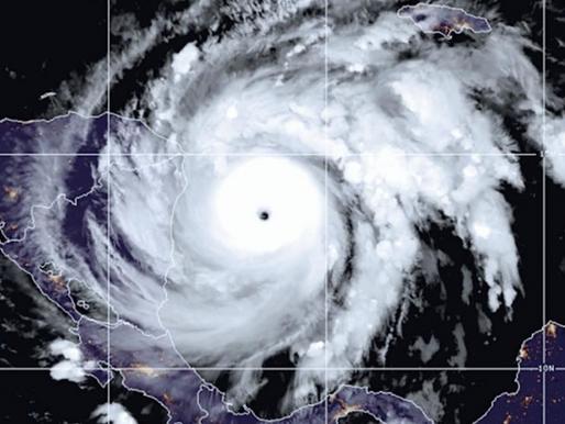 Hurricane Iota - Category 5 Storm Nears Central America