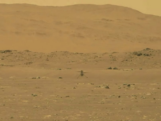 NASA's Ingenuity Helicopter Takes Flight on Mars