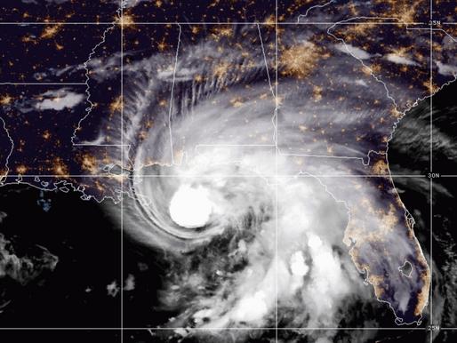 Hurricane Sally Slows as it Nears Coast - Back to a CAT 1