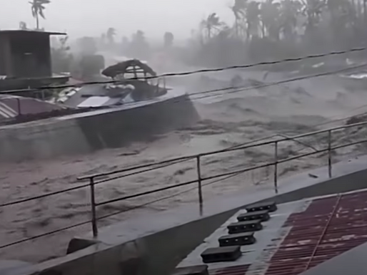 Typhoon Goni Slams Into Philippines Sunday
