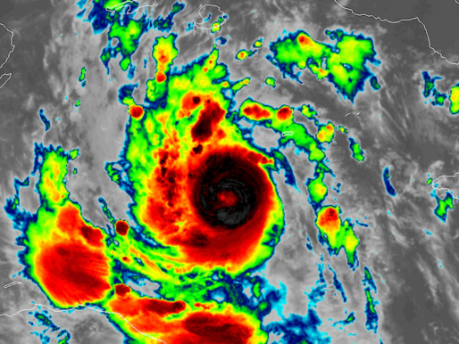 Delta Has Intensified Quickly to a Category 4 Hurricane