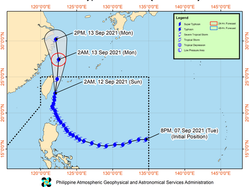 Powerful Typhoon Chanthu Makes Landfall in the Philippines