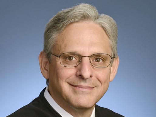 Biden To Select Merrick Garland As Attorney General