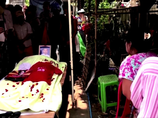 2 More Anti-Coup Protesters Killed By Myanmar Security Forces