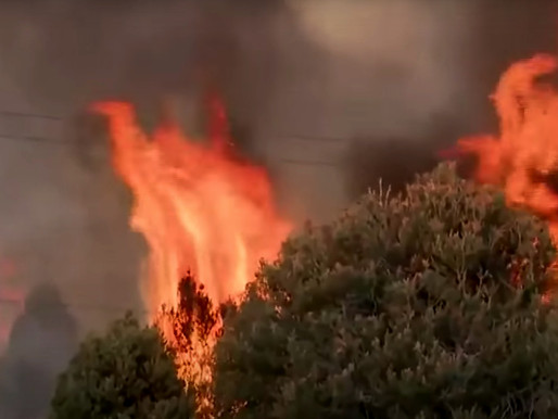 Massive Wildfires Destroying Multiple Homes in California