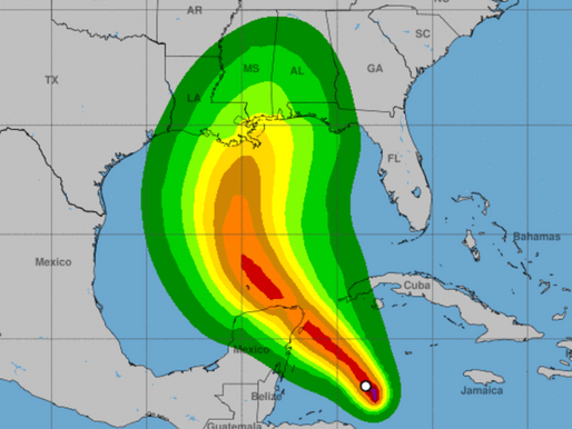 Tropical Storm Zeta Could Make Landfall by Wednesday
